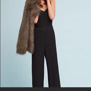 NWT Anthropologie essential strappy jumpsuit sz 4